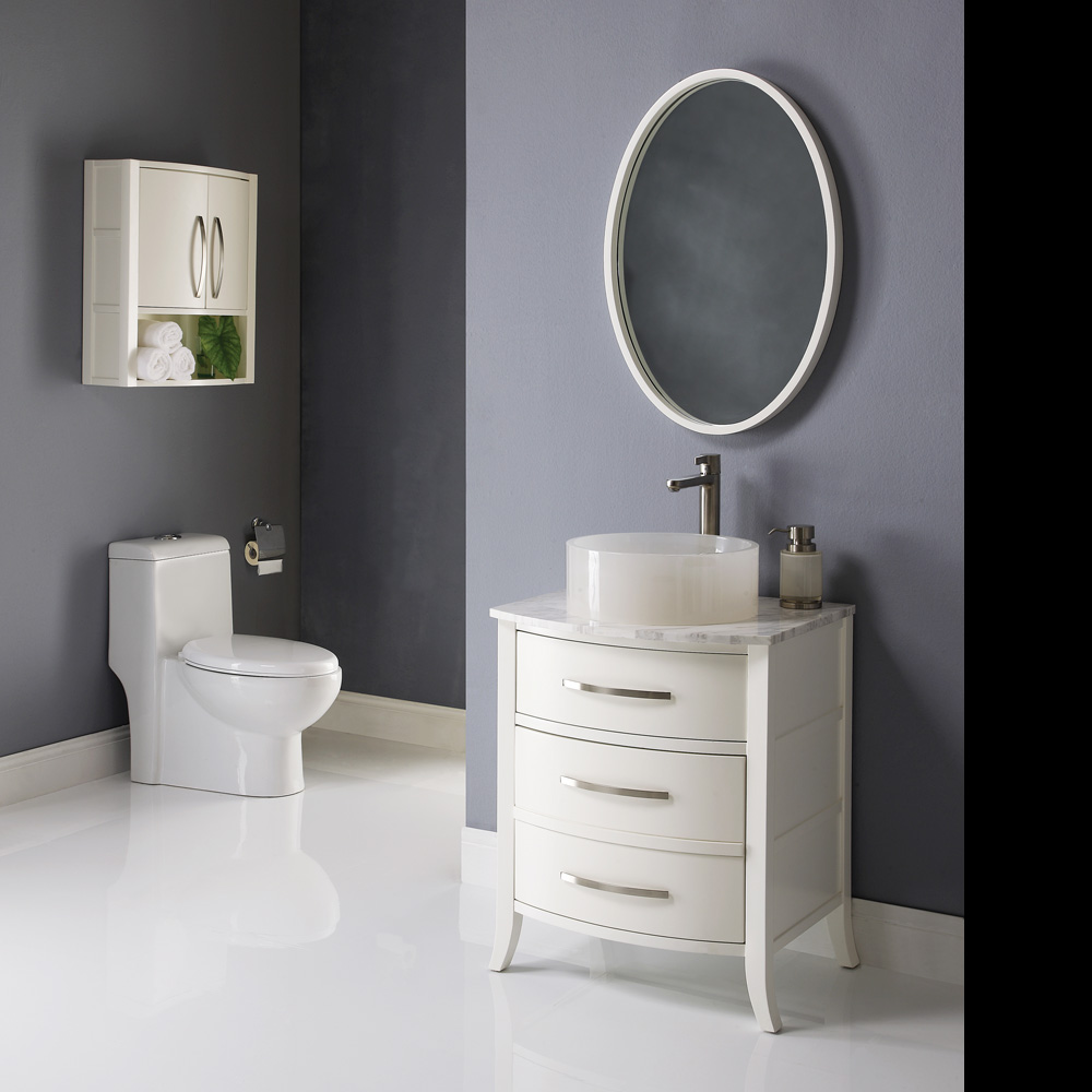White Bathroom Vanities As A Doorway To Stylish Bathrooms