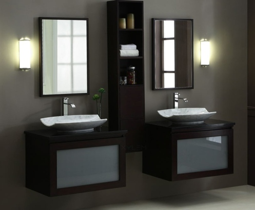 "BLOX Xylem 80"" Moduler Bathroom Vanity Set"