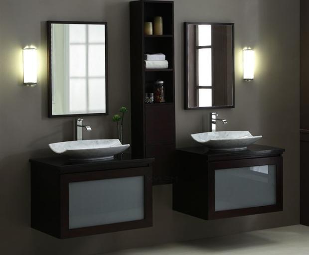 """BLOX Xylem 80"""" Moduler Bathroom Vanity Set"""