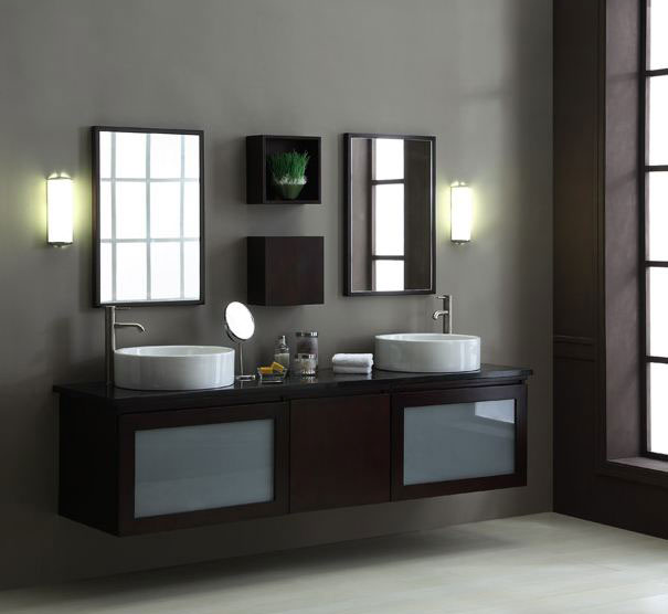 "BLOX Xylem 80"" Floating Bathroom Vanity Set"