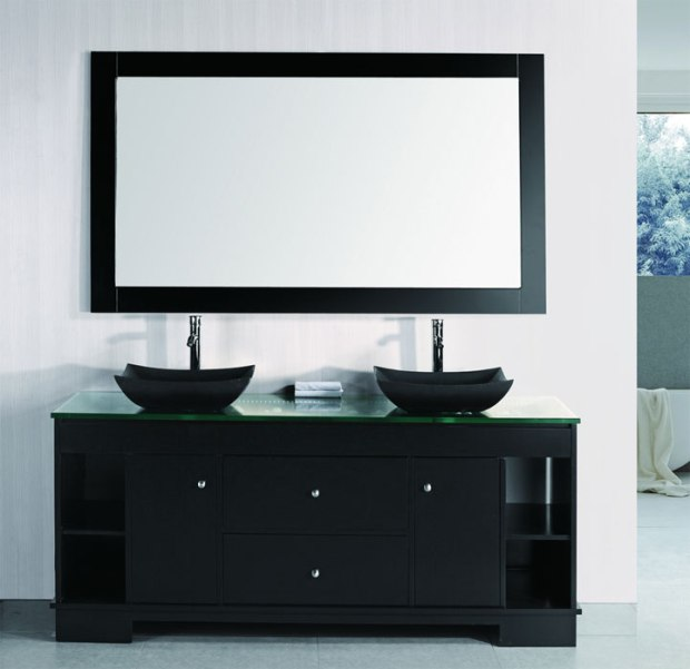 Design Element  Oasis Contemporary Bathroom Vanity
