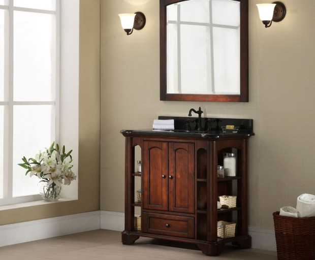 Xylem Wyncote Antique Bathroom Vanity