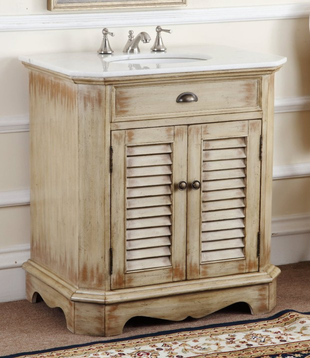 Adelina-32-inch-Cottage-Bathroom-Vanity-White-Marble-Top