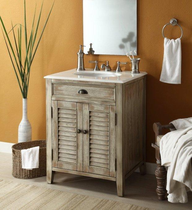 Adelina 26 inch Antique Bathroom Vanity
