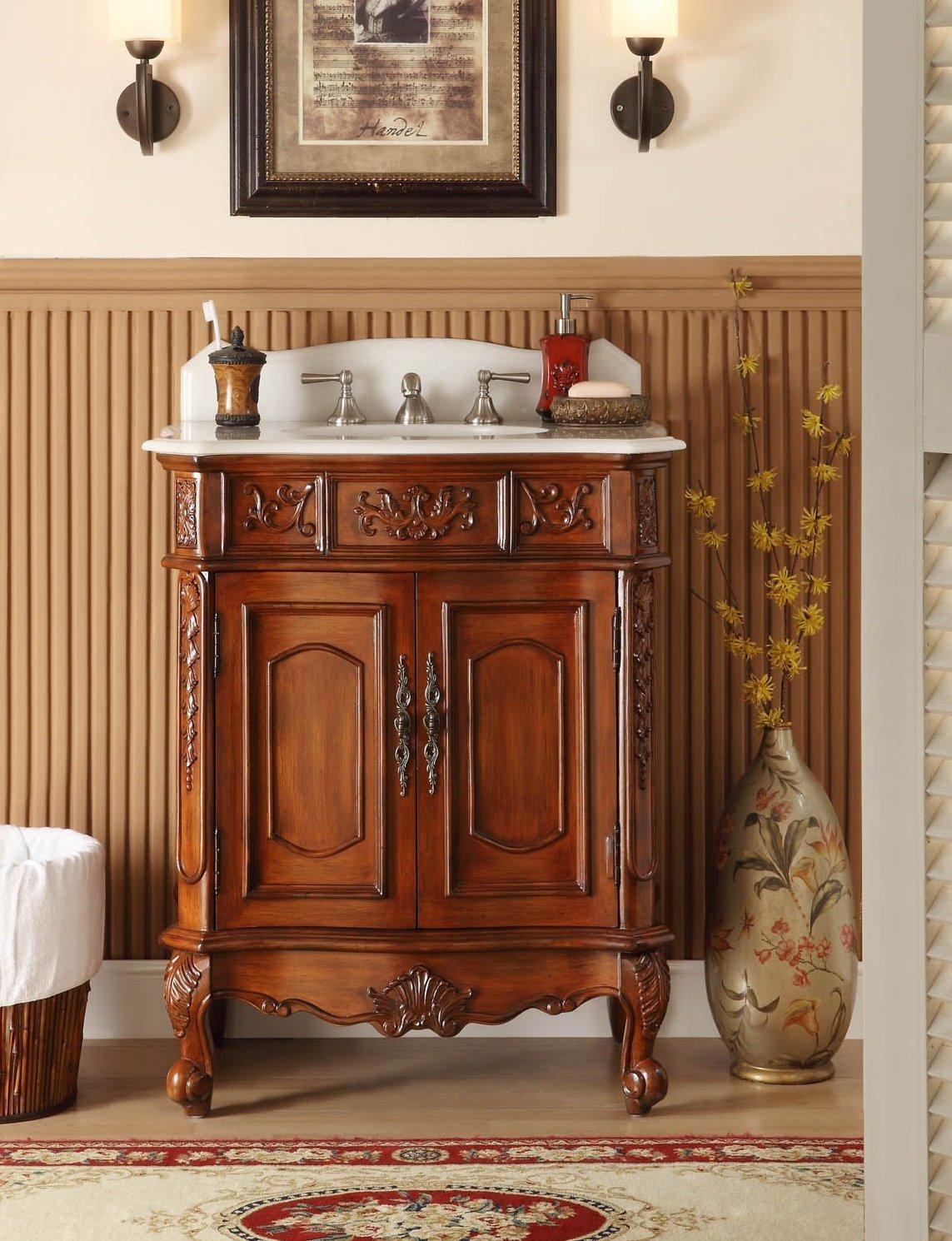 Antique Bathroom Vanities: High Chic, Low Cost ...